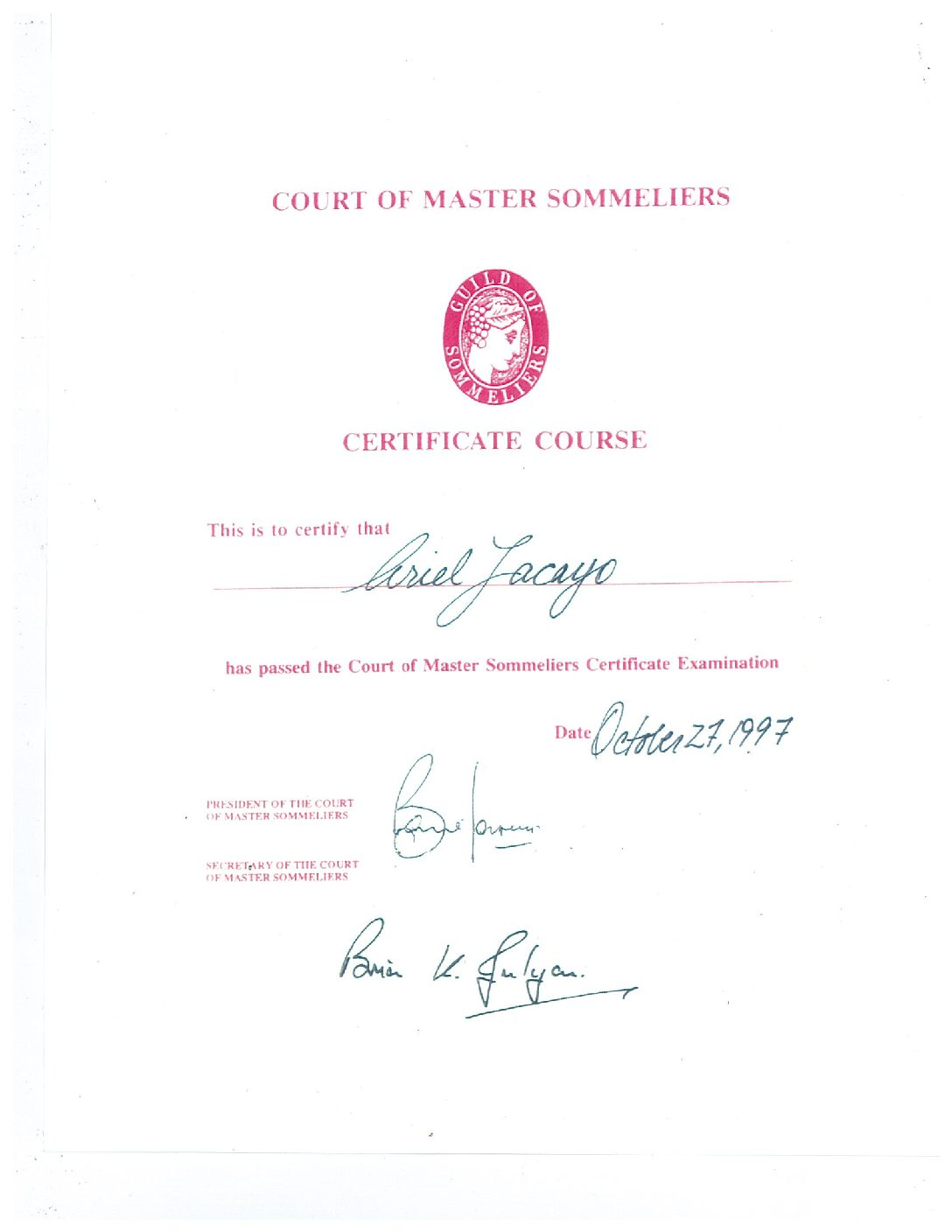 master court of sommeliers the best master in 2017